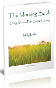 The Morning Book: Daily Rituals for Sacred Living - Molly Larkin